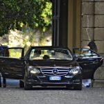 Arrivo degli sposi dall'ingresso principale - Villa Mondragone