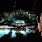 SPettacolo pirotecnico con fuochi d'artificio finti - Villa Mondragone