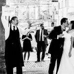 Il bacio degli sposi - Villa Mondragone