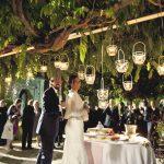 Taglio torta sposi nel Giardino Segreto di Villa Mondragone