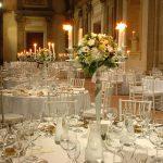 Allestimento tavoli ricevimento matrimonio - Villa Mondragone