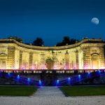GIardino della GIrandola di Villa Mondragone di sera