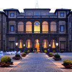 Facciata ingresso Villa Mondragone