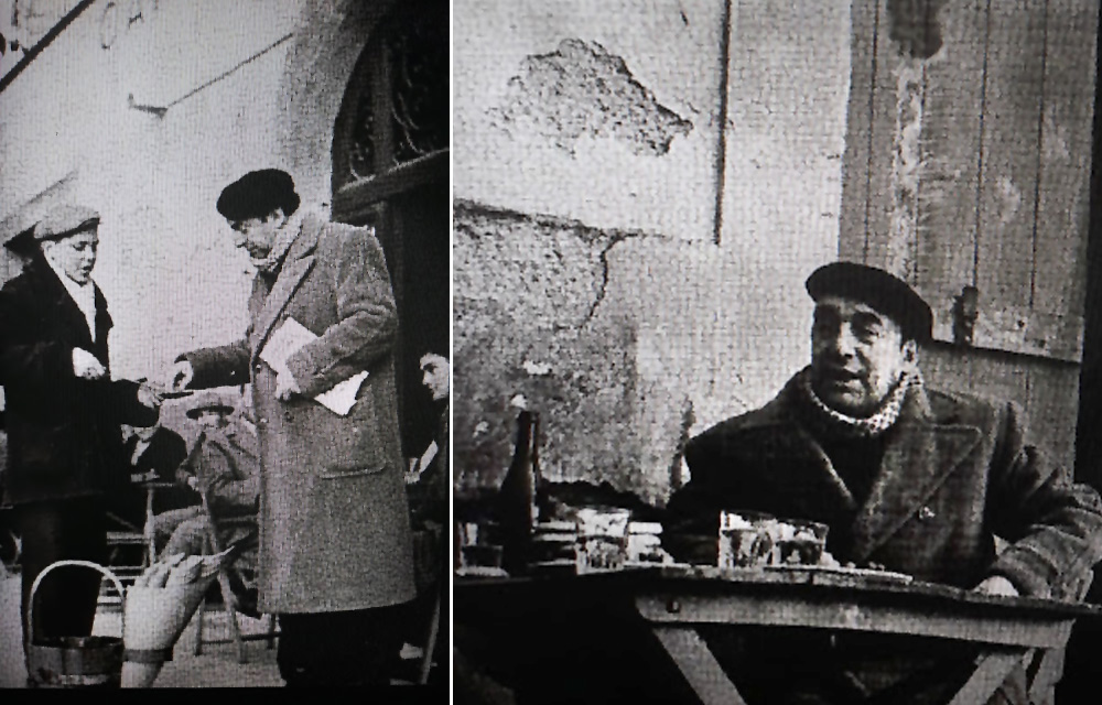 Pablo Neruda a Frascati