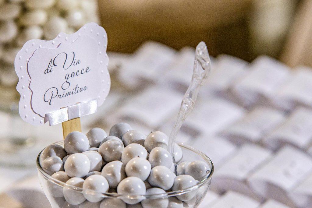 Confetti: un omaggio degli sposi agli invitati e ale persone più care