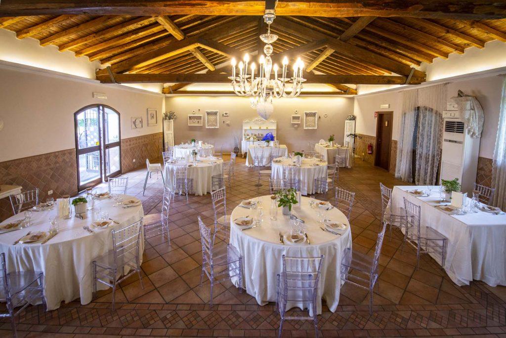 Vigna dei Casali vicino Frascati ospita eventi di stile con allestimenti raffinati