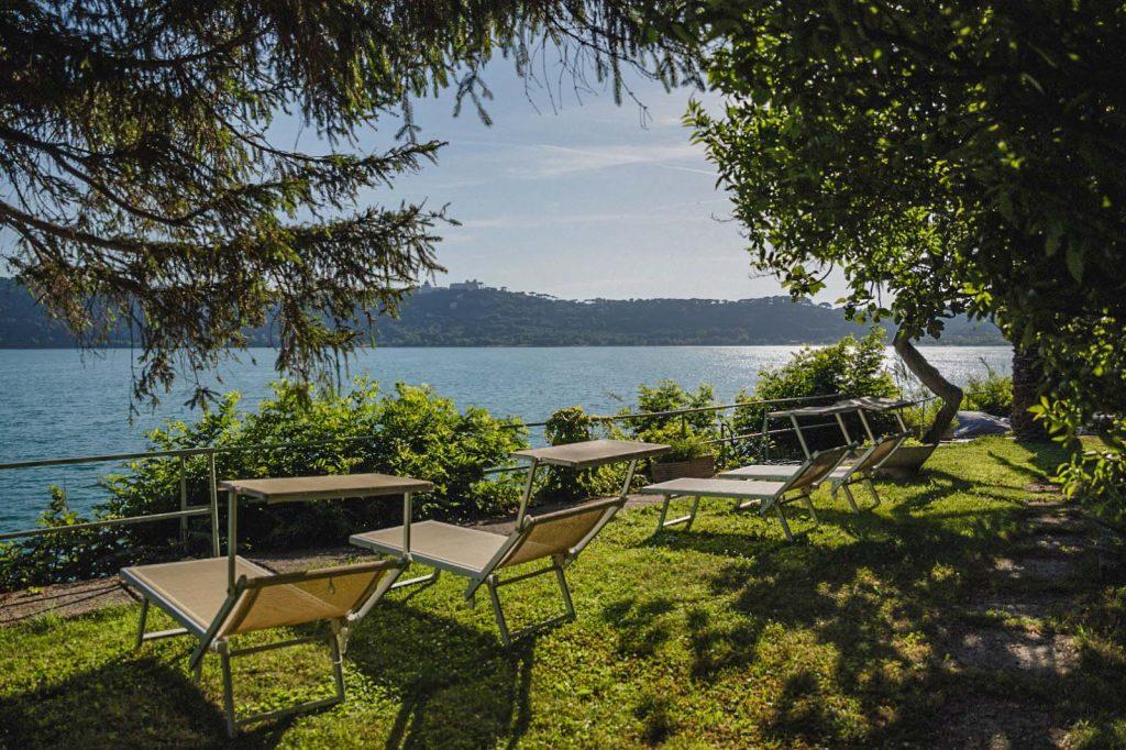 Culla del Lago a Castel Gandolfo, non distante da Roma un ambiente relax per il giorno speciale