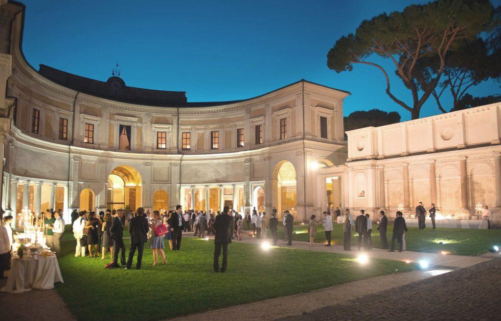 Serata di Gala presso il Museo Etrusco di Villa Giulia, organizzata da Around you Banqueting